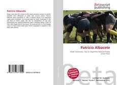 Portada del libro de Patricio Albacete