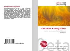 Bookcover of Alexander Baumgartner
