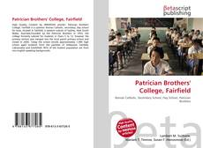 Bookcover of Patrician Brothers' College, Fairfield