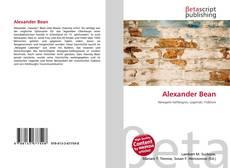 Bookcover of Alexander Bean