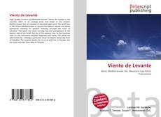 Обложка Viento de Levante
