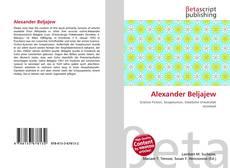 Buchcover von Alexander Beljajew