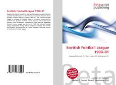 Bookcover of Scottish Football League 1900–01