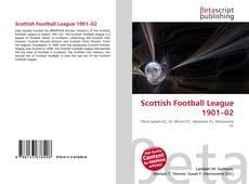 Scottish Football League 1901–02的封面