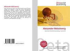 Bookcover of Alexander Belostenny