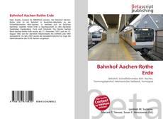 Capa do livro de Bahnhof Aachen-Rothe Erde