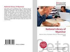 Bookcover of National Library of Myanmar