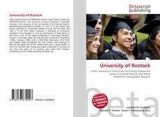 Bookcover of University of Rostock