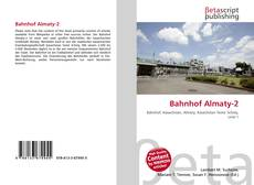 Bookcover of Bahnhof Almaty-2