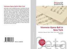Copertina di Viennese Opera Ball in New York