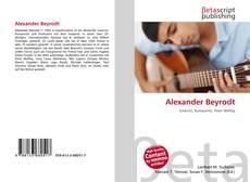 Bookcover of Alexander Beyrodt
