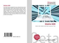 Buchcover von Mobile DDR