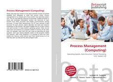 Bookcover of Process Management (Computing)