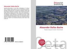 Portada del libro de Alexander Dallas Bache