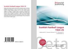 Обложка Scottish Football League 1924–25