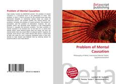 Bookcover of Problem of Mental Causation