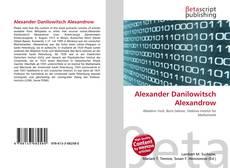 Portada del libro de Alexander Danilowitsch Alexandrow
