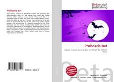 Bookcover of Proboscis Bat