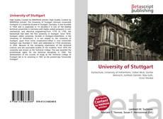 Copertina di University of Stuttgart