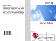 Bookcover of Warren Bullock