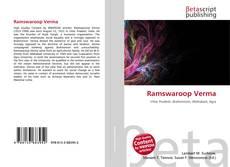 Ramswaroop Verma kitap kapağı