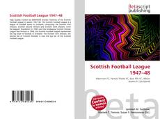 Copertina di Scottish Football League 1947–48