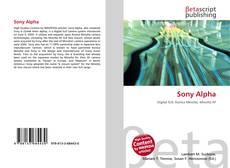 Buchcover von Sony Alpha