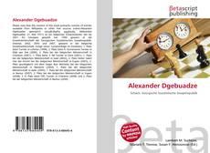 Alexander Dgebuadze kitap kapağı