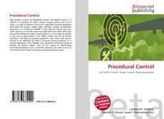 Couverture de Procedural Control