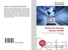 Bookcover of Maximum Entropy Markov Model