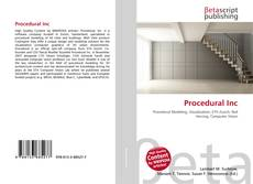 Couverture de Procedural Inc