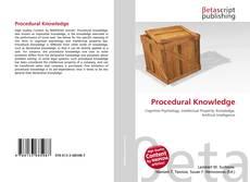 Couverture de Procedural Knowledge