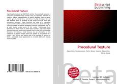 Couverture de Procedural Texture