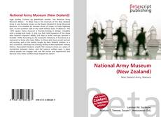 Portada del libro de National Army Museum (New Zealand)