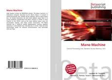 Bookcover of Mano Machine