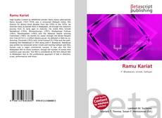 Capa do livro de Ramu Kariat