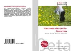Buchcover von Alexander-der-Große-Marathon