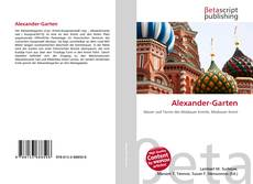 Buchcover von Alexander-Garten
