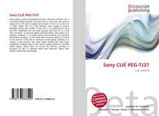Capa do livro de Sony CLIÉ PEG-TJ37