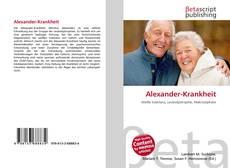 Portada del libro de Alexander-Krankheit