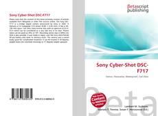 Sony Cyber-Shot DSC-F717 kitap kapağı