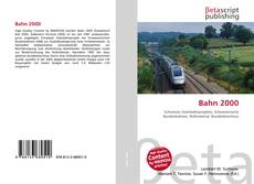 Bookcover of Bahn 2000