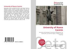 Bookcover of University of Nueva Caceres