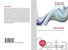 Bookcover of Sony Dash