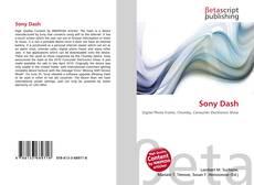Copertina di Sony Dash