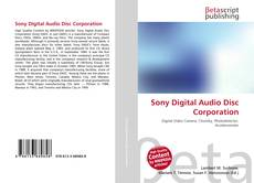 Bookcover of Sony Digital Audio Disc Corporation