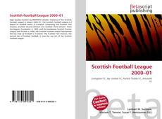 Bookcover of Scottish Football League 2000–01