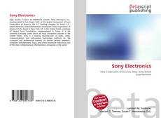 Bookcover of Sony Electronics