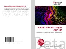 Scottish Football League 2001–02 kitap kapağı