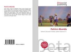Patrice Abanda的封面